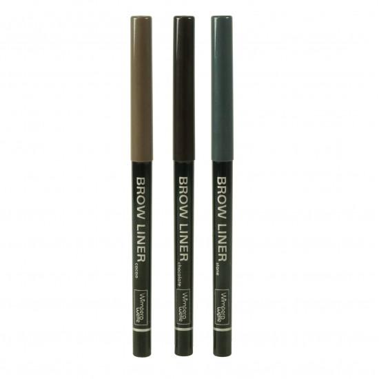 Creion de sprancene retractabil –BROW LINER culoare piatra